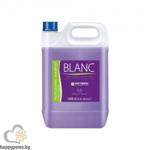 Blanc шампоан за нуждите на кучета с бяла, черна и сива козина, 5 л.