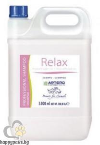 RELAX DERMIS PLUS шампоан за чувствителна и деликатна кожа, 5 л.