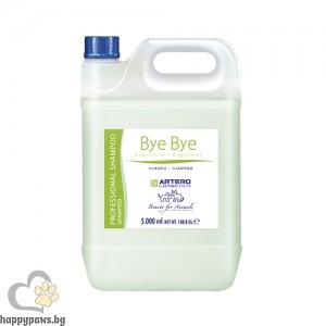 BYE BYE шампоан за премахване на кърлежи и бълхи, 5 л.