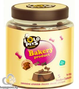 Lolo - Лакомство бисквитки кокалчета за куче, 210 гр.