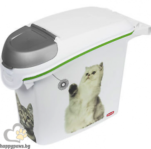 Curver - Food Box Litter контейнер за съхранение на суха храна, 6кг. , 15 Л.