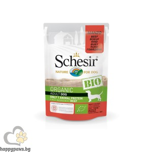 Schesir BIO Pauch - био храна, 85 гр. различни вкусове
