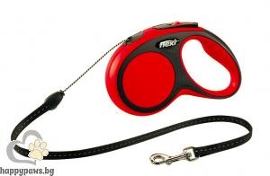 Flexi - Comfort XS Mini автоматичен повод за куче до 8 кг различни цвтове, въже 3 метра