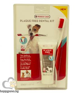 Versele Laga - Oropharma Dental Care - комплект четка и паста за зъби за куче