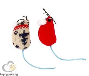 Коледени мишки - плетена
