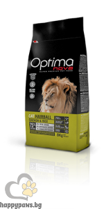 Visan Optima Cat Hairball Chicken - супер премиум храна с чисто пилешко месо, за отделяне космените топки от стомаха за котки над 12 месечна възраст , 8кг.