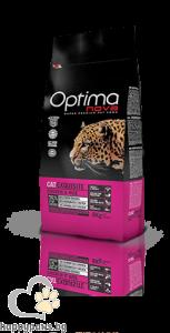 Visan Optima Cat Exuisite Chicken - супер премиум храна с чисто пилешко месо за капризни котки над 12 месечна възраст , 8кг.