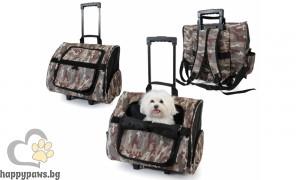 Camon - Многофункционална транспортна чанта за домашни любимци Макс, камуфлажна