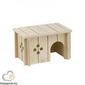 Ferplast дървена къщичка за малки животни