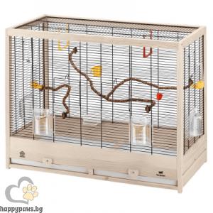 Ferplast Giulietta 6 - кафеза за канарчета, вълнисти папагали или екзотични птички