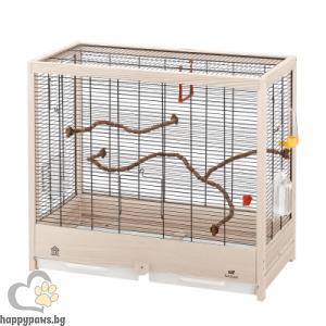 Ferplast Giulietta 5 - кафеза за канарчета, вълнисти папагали или екзотични птички