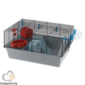 Ferplast Cage Milos Large - клетка с пълно оборудване, за мишки и хамстери