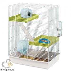 Ferplast Cage Hamster Tris - клетка с пълно оборудване