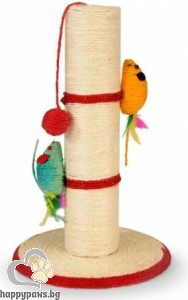 Camon Scratching post with mouse - котешка драскалка 44 см.