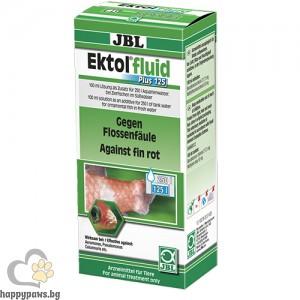 JBL Ektol fluid Plus 125 - срещу загниване и други бактериални инфекции на външните части на тялото 100 мл.