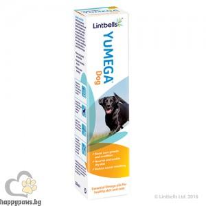 Lintbells Yumega Dog – комбинация от есенциални масла за здрава кожа и козина (за кучета) 250 мл.