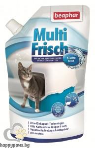 Beaphar Multi Frisch Ocean Breeze - биологично активен ароматизатор за котешка тоалетна - океански бриз