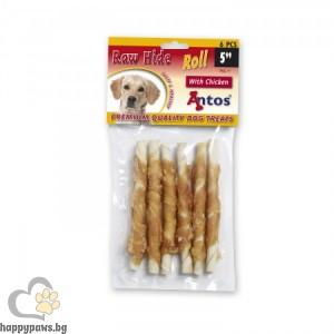 Antos Roll Premium - усукани солети с пилешко месо 12 см., 6 броя