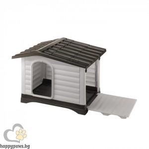 Ferplast Dogvilla 70 - пластмасова къща за куче