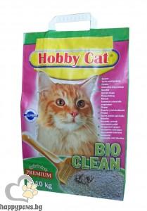 HOBBY CAT - BIO CLEAN биоразградима котешка тоалетна 10 кг.