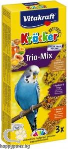 Vitakraft - Kraecker - крекер с мед яйца и плодове 3 броя