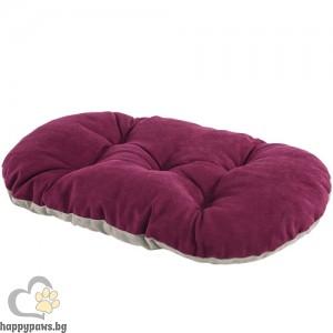 Ferplast Venus Cushion 78/8 - меко дюшече 80 / 52 см. / сиво, зелено, червено /