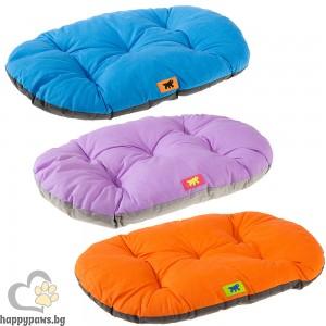 Ferplast Relax Color C 55/4 - мек памучен дюшек / оранжев, син, лилав / 55 / 36 cm