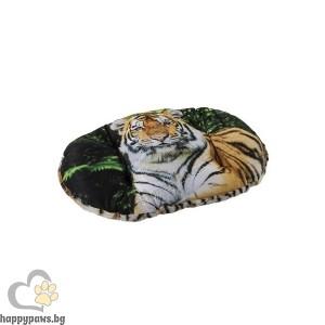 Ferplast Relax F Tiger 55/4 - мек памучен дюшек с плюш 55 / 36 cm
