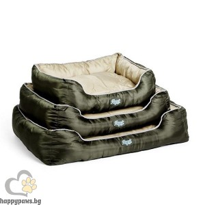Agui Waterproof Bed - луксозно меко легло, различни размери, зелено