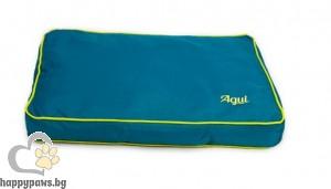 Agui Nature Cushion - луксозен мек матрак / сиво, кафяво, синьо, лилаво /