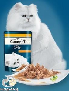 Gourmet Perle пиле - мини филенца в сос 85 гр.