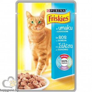 Purina Friskies-Хапки в сос в пауч за котки