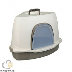 TRIXIE - Тоалетен съд ъглов с капак, Алваро