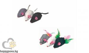 Camon - Играчка за котета - Mишки с цветни опашки
