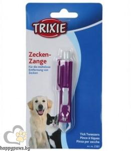 TRIXIE - Щипка за кърлежи, пластмасова, 9 см.