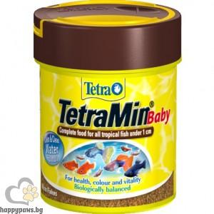 Tetra - Min Baby Храна за тропически рибки-бебета, 66 мл.