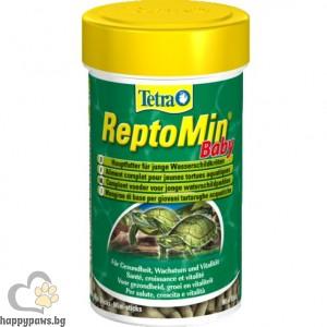 Tetra - Tetra ReptoMin Baby Храна за водни костенурки-бебета, 100 мл.