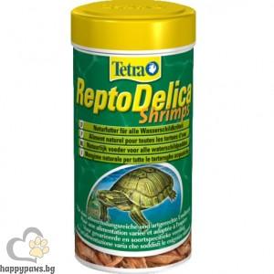 Tetra - Tetra ReptoDelica Shrimps Деликатес за водни костенурки със скариди, 250 мл