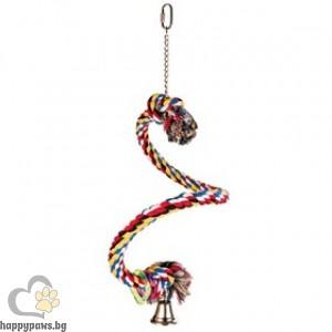 TRIXIE - Спирала въже с камбана