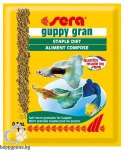 sera - Guppy gran – гранулирана храна за Гупи, 10 гр.