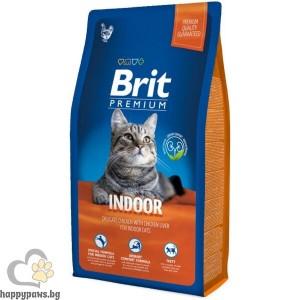 Brit - Premium Adult Hairball and Urinary суха храна за котки над 12 месеца, против образуването на космени топки в стомаха