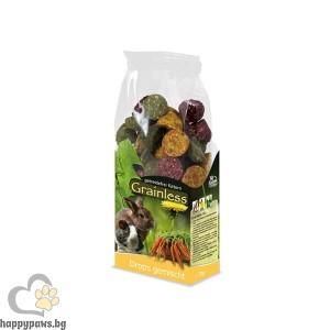 JR Farm - Беззърнена допълваща храна за гризачи микс, 140 гр