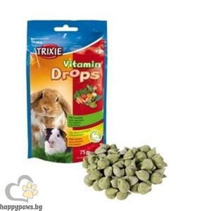 TRIXIE - Витаминен дропс, зеленчуци - 0.075 мл.