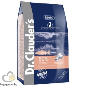 Dr. Clauders - Best Choice Super Premium Hyposensitive All Breed Venison & Potato, суха храна сьомга и картофи, подходяща за всички породи кучета над 12 месеца, различни разфасовки.