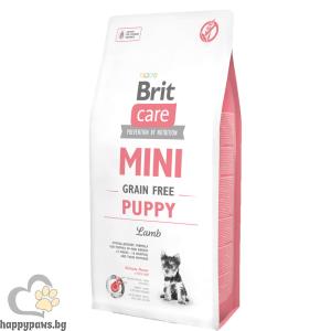 Brit Care Mini Grain Free Puppy - за малки кученца от дребните породи