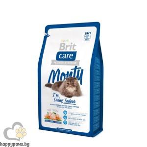 Brit - Care Indoor Monty суха храна за котки живеещи в затворени пространства