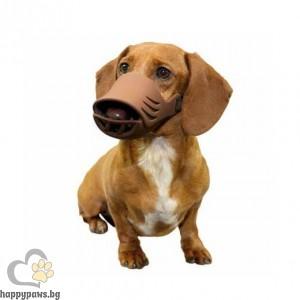 Artero Силиконов намордник за куче - кафяв, различни размери