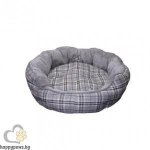 """Nobby - Меко кръгло легло """"KAPU"""", сиво, различни размери"""