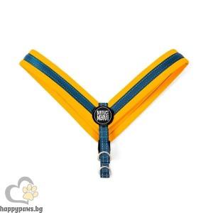 Max Molly H-Harness Q-Fit Orange Нагръдник за кучета в оранжев цвят, XL - размер
