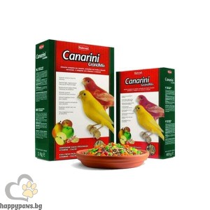 Padovan GRANDMIX Canarini - Пълноценна храна за канарчета с плодове, различни разфасовки